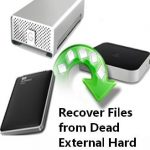 Finish Dead External Hard Drive Data Recovery with Simple Steps