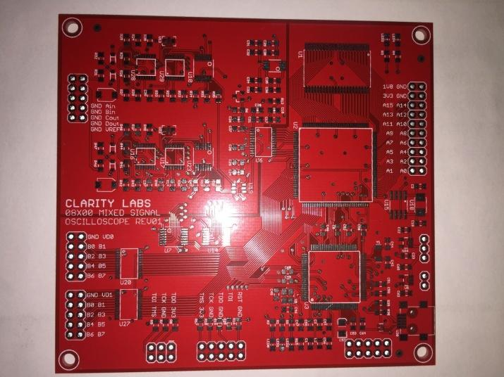 Guides for distinguishing the single layer PCB and 2 layer