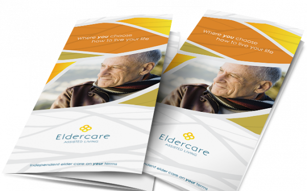 A Pamphlet Advertising Care for the Elderly