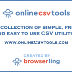 Online CSV Tools – Swiss Army Knife of CSV Editing