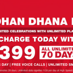 Unlimited 4G Data Plans by Reliance Jio