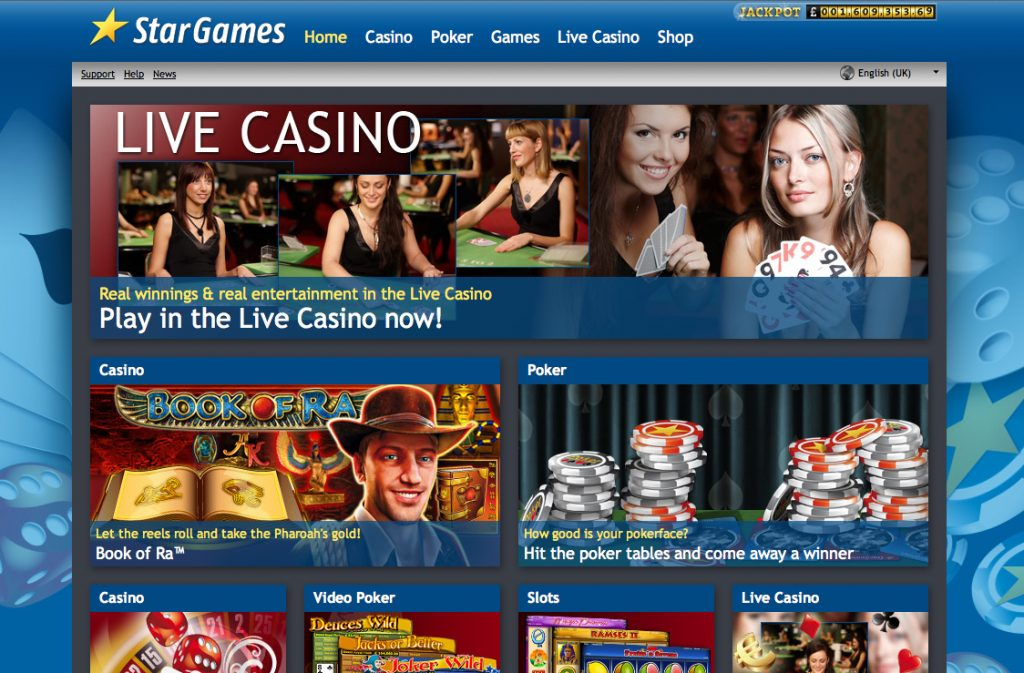 Stars Games Casino