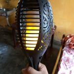 OxyLED Solar Torch Light with Realistic Dancing Flames Review: A Novel Addition for Your Home or Garden
