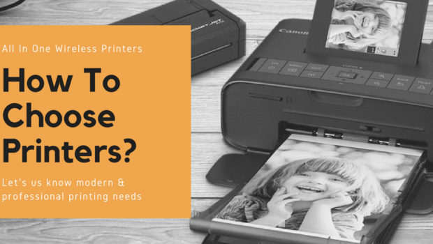 tips to choose an all in one wireless printer for professional