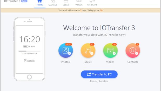 IOTransfer 3 – an in depth review! | Techno FAQ