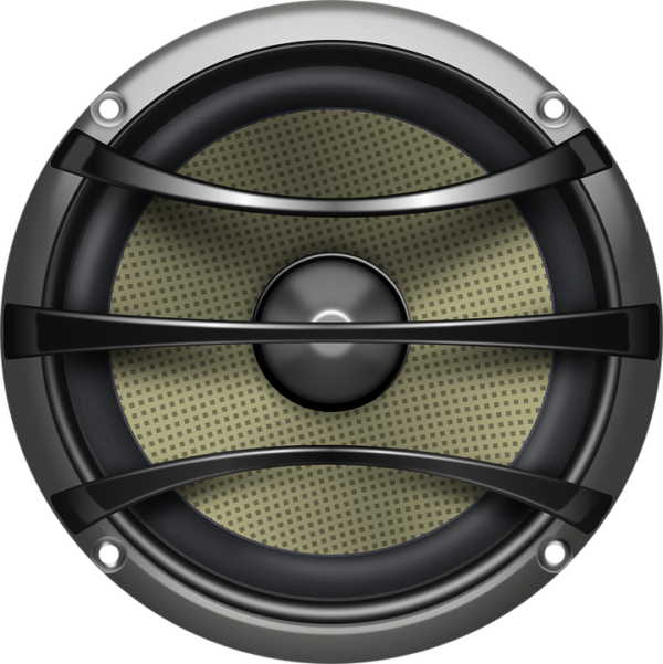 Speaker, Loudspeaker, Audio, Electronics, Grey, Metal