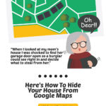 How to Hide Your House From Google Maps [Infographic]