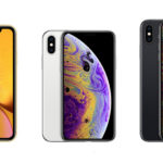 A Bunch of iPhones: The XS, The XS Max and The XR