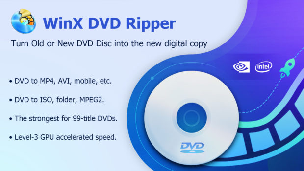 Look for best DVD ripper? Download a Free Licensed WinX DVD