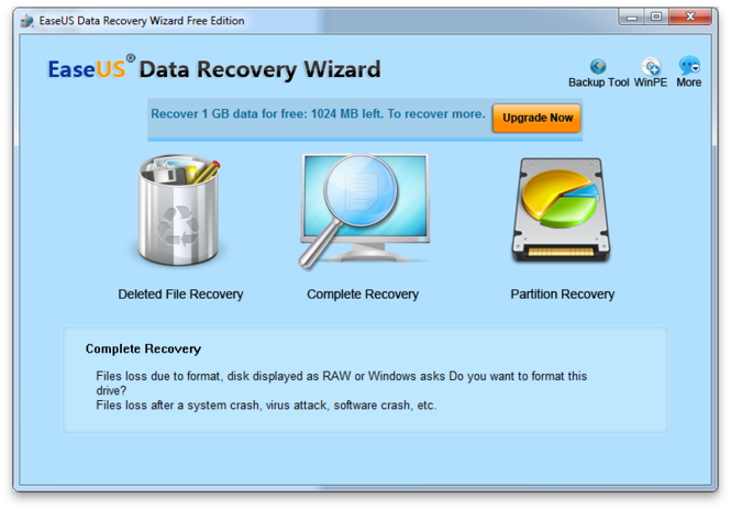 Use Top EaseUS Data Recovery Software to Restore Files