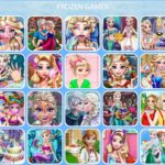 Frozen: Beautiful Online Games for Your Children