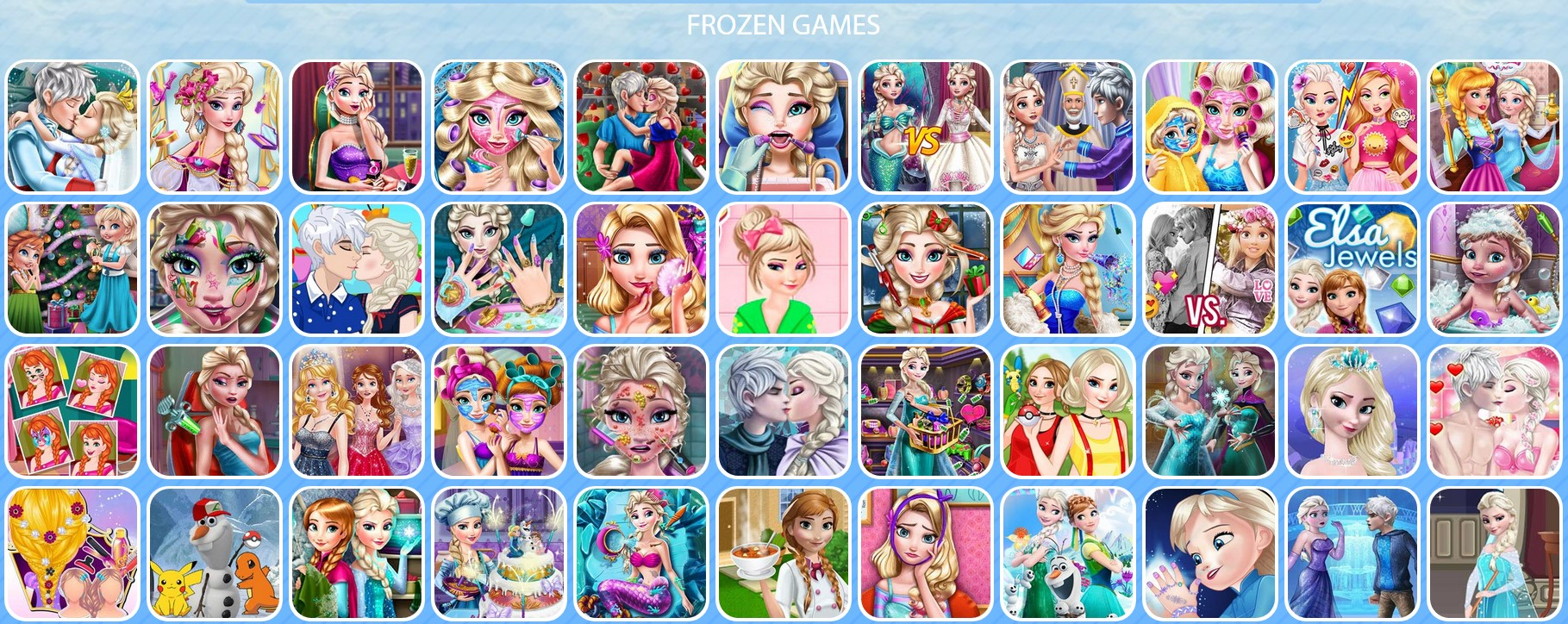 2c52baa65ecdf Frozen  Beautiful Online Games for Your Children