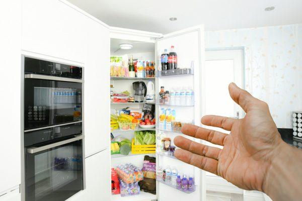 Hospitality, Fridge, Hand, Door, Refrigerator