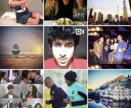 Image result for instagram explore page