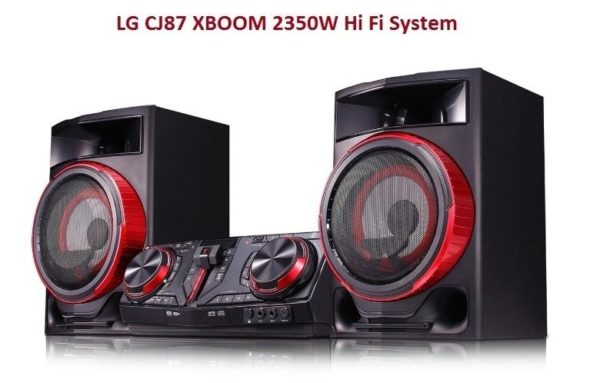 LG CJ87 cheap home theatre hi fi in nigeria