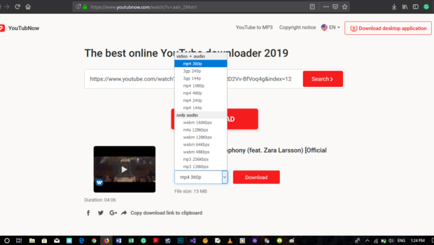 Youtubnow Com Is A Simple Way To Download All Contents Of A Youtube