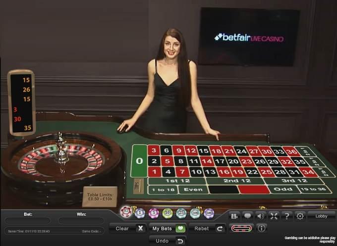 Betfair Live Roulette Strategy