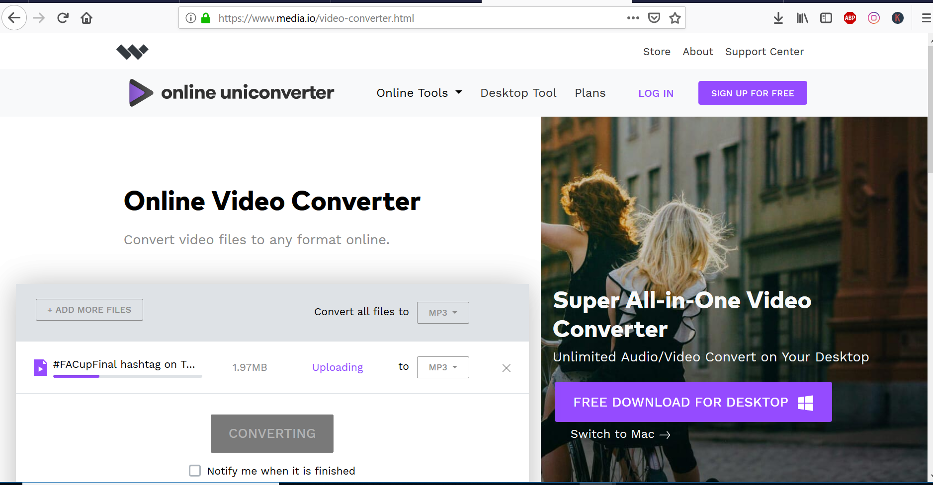 convert html video to mp4 online free