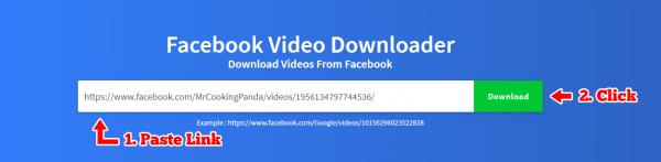 How to Download Facebook Videos: Getfvid   Techno FAQ