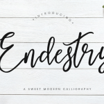 Calligraphy in 21 century – Fonts