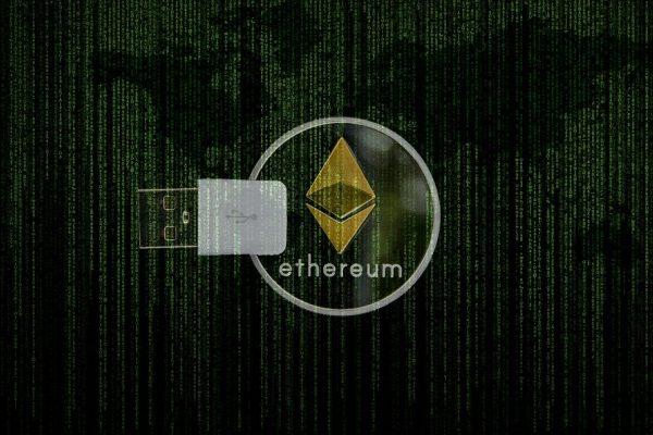 Cryptocurrency, Ethereum, Matrix, Digital, Ledger, Usb