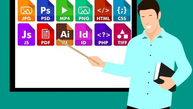 Icon, File, Extension, Document, Symbol, Set, Media