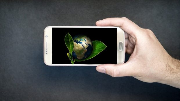 ature Conservation, World, Smartphone, Green, Globe