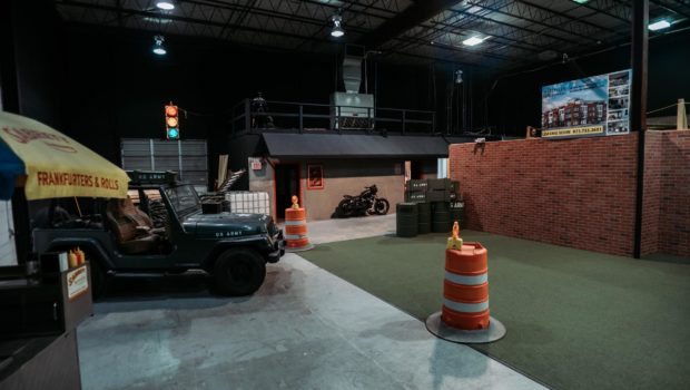 Tac Ops is a fully immersive indoor tactical laser tag arena
