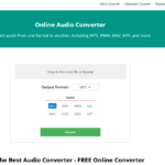 Downloading and converting Audio on the web – How can you do it with a few clicks