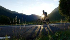Bike, Electric, Setting, Sun