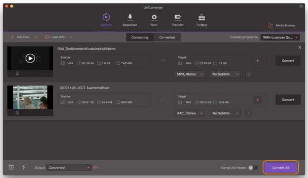 Convert MP4 to WAV Online alternatively