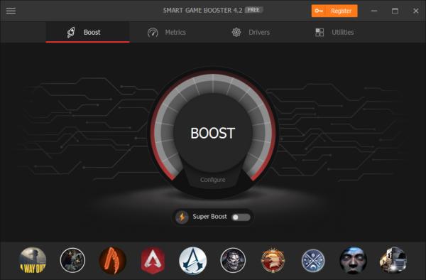 E:\资料\SMGB相关\Smart Game Booster\Screenshots\1. main.png