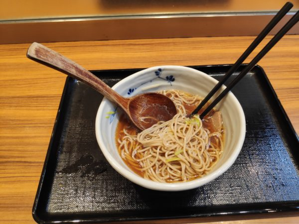 Duck Soba is a typical Japanese dish