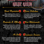 Six features that make great casinos stand out [Infographic]