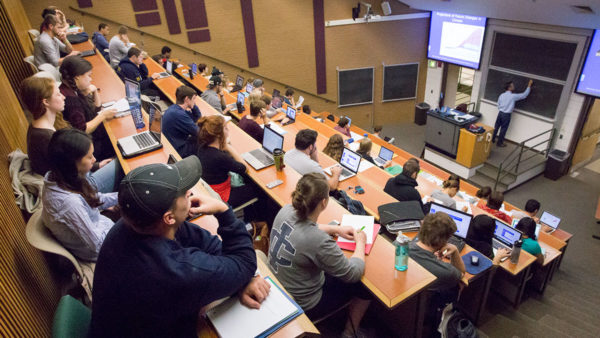 Regulations on laptop use in college classrooms differ among professors |  The Ithacan
