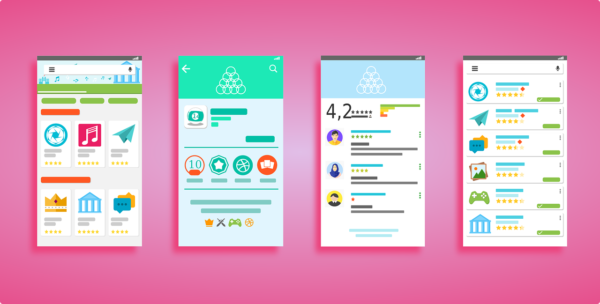 User Interface Android Play Store - Free vector graphic on Pixabay