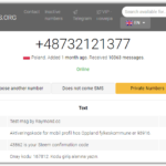 Receive SMS Services for Microsoft Account Creation