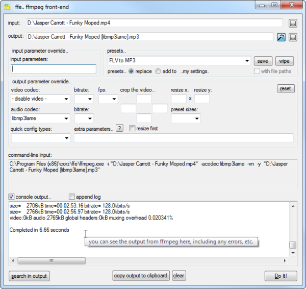 ffe - AutoIt Example Scripts - AutoIt Forums